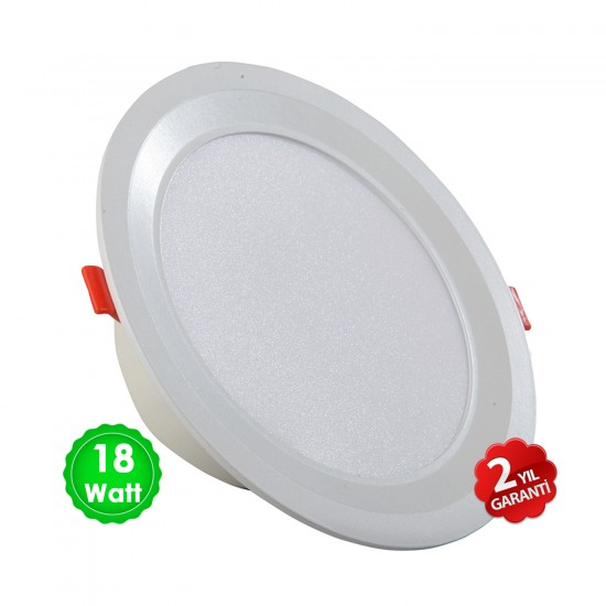 "LED SMD Downlight 6"" 18 W (ECO)"