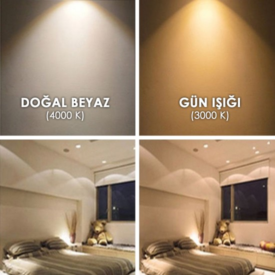 LED SMD Downlight 24 W